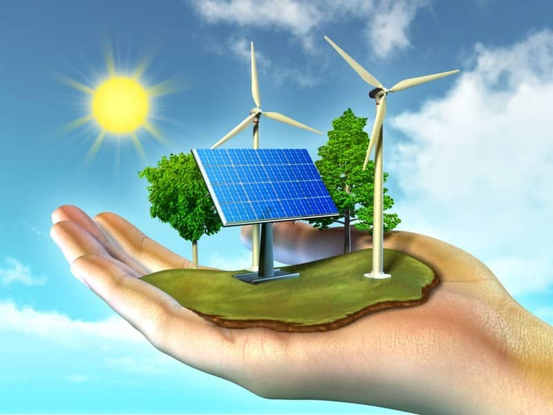 Power Household with Renewable Energy