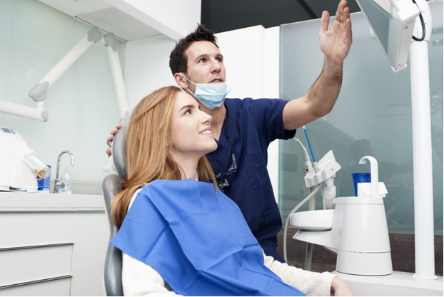 Dentists are actively involved