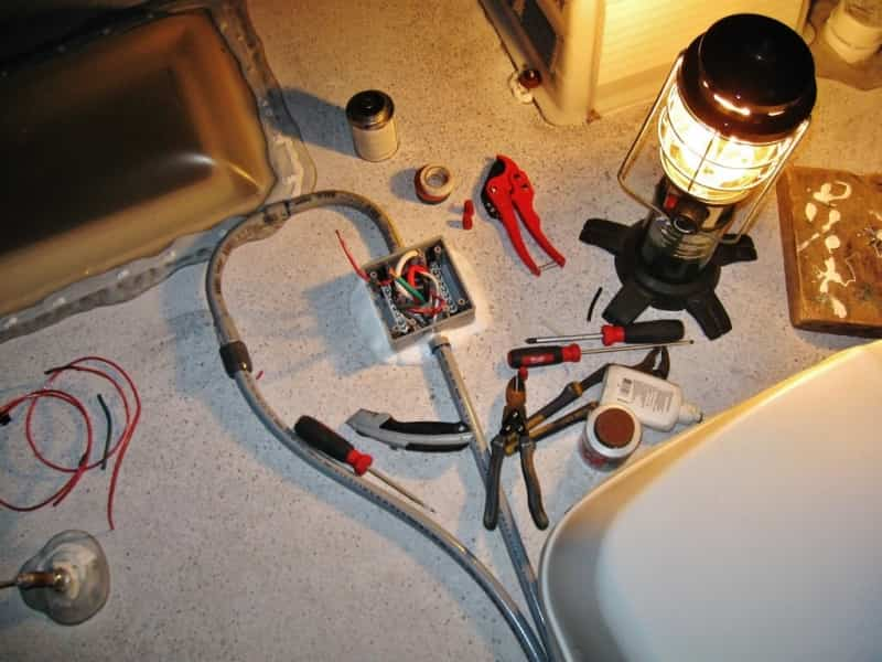 electrical junction box wiring